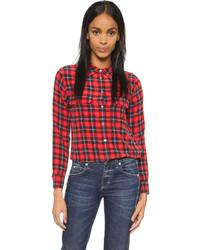 Slim signature blouse medium 345726