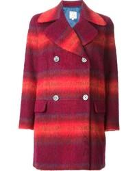 Stella Jean Antonella Plaid Coat