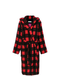 Golden Goose Deluxe Brand Checkered Coat