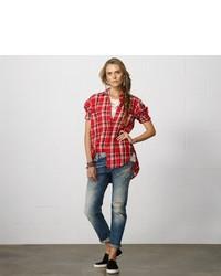 Denim & Supply Ralph Lauren Denim Supply Plaid Big Pocket Shirt