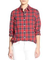 Vineyard Vines Party Plaid Flannel Shirt