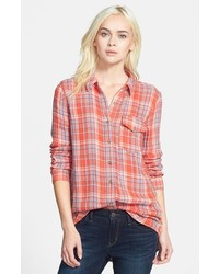 Treasurebond Long Plaid Shirt