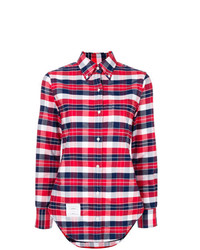 Thom Browne X Colette Plaid Shirt