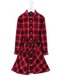 Ralph Lauren Kids Plaid Shirt Dress