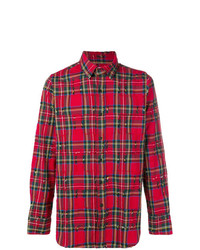 Gaelle Bonheur Checked Classic Shirt