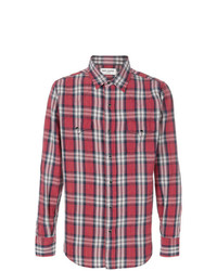 Saint Laurent Classic Plaid Shirt
