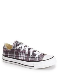 Converse Chuck Taylor All Star Plaid Low Top Sneaker
