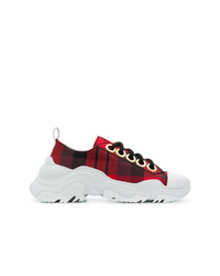 N°21 N21 Chunky Sole Check Sneakers