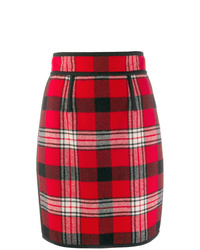 Dsquared2 Checkered Pencil Skirt