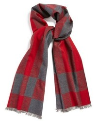 Chelsey Plaid Silk Scarf