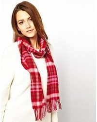 Johnstons Lambswool Plaid Scarf