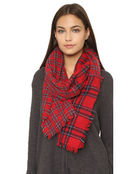 Madewell Patchwork Piece Plaid Scarf