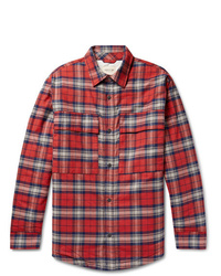 Fear Of God Checked Cotton Flannel Overshirt