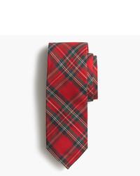 J.Crew Silk Tie In Tartan