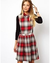 088affa07b Asos Maternity Smock Dress With Plaid Check With Collar Out of stock · Asos  Skater Dress In Check