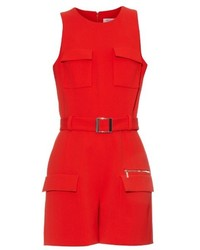 Thierry Mugler Mugler Mid Weight Crepe Playsuit