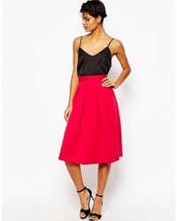 Midi prom skirt in scuba medium 1211619