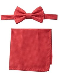 Steve Harvey Neat Solid Bowtie And Neat Solid Pocket Square