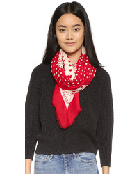 Polka dot square scarf medium 425410