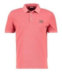 Napapijri Edensor Polo Shirt Crabapple