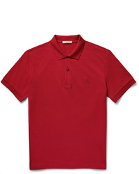 Burberry Slim Fit Cotton Piqu Polo Shirt