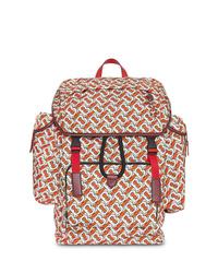 Burberry Medium Monogram Print Backpack