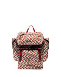 Burberry Monogram Print Backpack