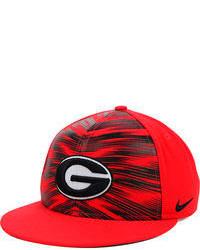 Red Print Cap