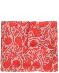 Leaves print scarf medium 616570