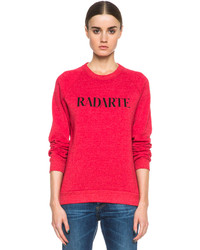 Radarte poly blend sweatshirt medium 190541