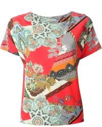 Etro Printed T Shirt
