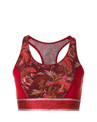 Etro Printed Crop Top