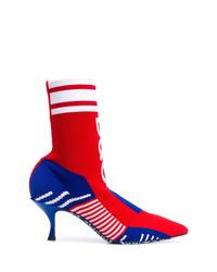 Dolce & Gabbana Logo Sock Boots