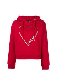 Love Moschino Heart Logo Hoodie