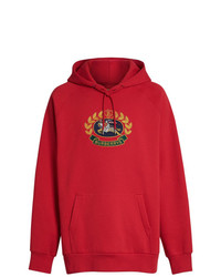 Burberry Printed Hooded Sweatshirt