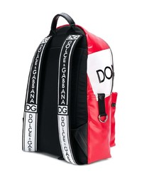 Dolce & Gabbana Logo Panelled Backpack