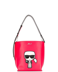 Karl Lagerfeld Ktokyo Small Hobo Shoulder Bag