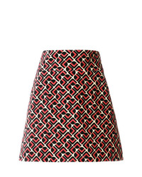 La Doublej Printed Mini Skirt