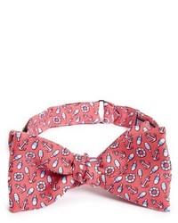 Vineyard Vines Nautical Print Silk Bow Tie
