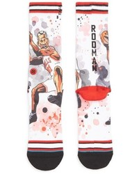 Stance Dennis Rodman The Worm Watercolor Print Socks