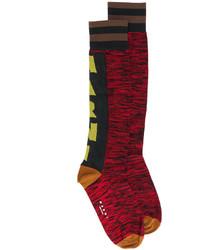 Marni Logo Print Socks