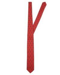 Ralph Lauren Bold Player Madison Tie Red