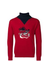 Kenzo Dragon Roll Neck Sweater