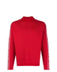 MSGM Side Logo Long Sleeve Sweater