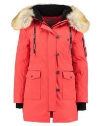 Calvin Klein Olivia Down Coat Flame Scarlet