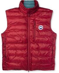 Lodge packaway quilted shell down gilet medium 391928