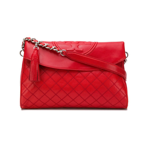 Tory Burch Fleming Fold Over Hobo Bag