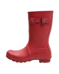 Original short wellies military red medium 4108326