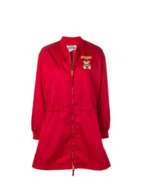 Moschino Teddy Circus Zipped Raincoat