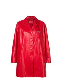 Prada Zip Chest Pocket Coat
